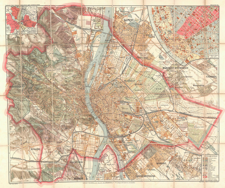 budapest térkép 1940  budapest térkép 1940